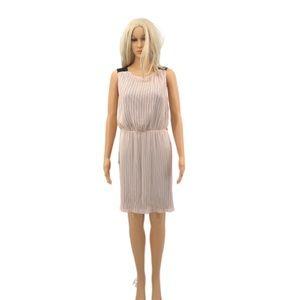 NWT Jennifer Lopez Petal Blush Dress Size Small